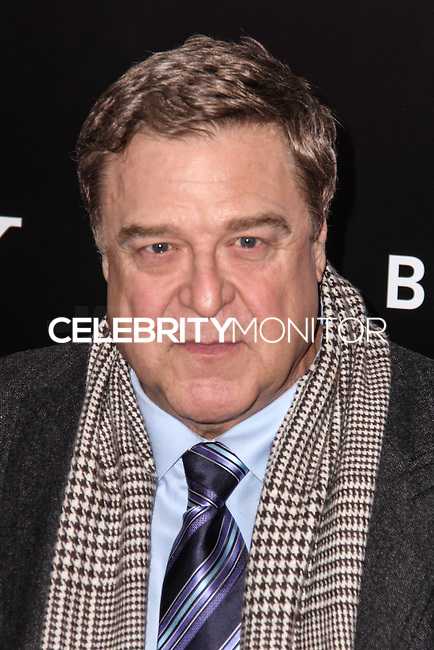 "NEW YORK, NY - FEBRUARY 04: John Goodman at the New York Premiere Of Columbia Pictures' ""The Monuments Men"" held at Ziegfeld Theater on February 4, 2014 in New York City, New York. (Photo by Jeffery Duran/Celebrity Monitor)"