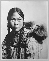 eskimo mother with child