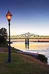 Natchez, Mississippi, Historic Under The Hill District, Natchez-Vidalia Bridge