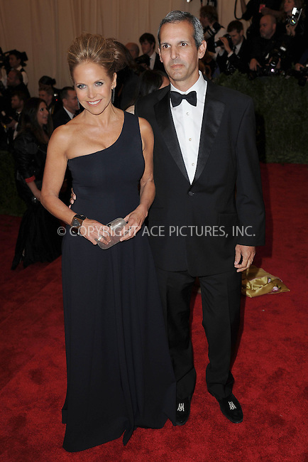 WWW.ACEPIXS.COM . . . . . .May 6, 2013...New York City...Katie Couric attending the PUNK: Chaos to Couture Costume Institute Benefit Gala at The Metropolitan Museum of Art in New York City on May 6, 2013  in New York City ....Please byline: Kristin Callahan...ACEPIXS.COM...Ace Pictures, Inc: ..tel: (212) 243 8787 or (646) 769 0430..e-mail: info@acepixs.com..web: http://www.acepixs.com .