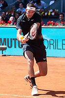 Argentine Juan Martin del Potro during Mutua Madrid Open 2018 at Caja Magica in Madrid, Spain. May 10, 2018. (ALTERPHOTOS/Borja B.Hojas) /NORTEPHOTOMEXICO