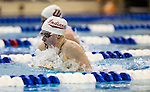 19 MAR 2016: Lilly King of Indiana competes in the 200 Yard Breaststroke final during the Division I Women's Swimming & Diving Championship held at the Georgia Tech Aquatic Center in Atlanta, GA. King would break the NCAA record with a final time of 2:03.59. David Welker/NCAA Photos