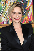04 October 2018 - Los Angeles , California - Emilia Clarke . &quot;My Dinner with Herve&quot; Los Angeles Premiere held at Paramount Studios.     <br /> CAP/ADM/BT<br /> &copy;BT/ADM/Capital Pictures