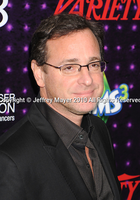 LOS ANGELES, CA. - December 04: Bob Saget arrives at Variety's Power of Comedy presented by Sims 3 in Partnership with Bing at Club Nokia on December 4, 2010 in Los Angeles, California.