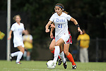 02 October 2011: Duke's Gilda Doria. The Duke University Blue Devils defeated the Virginia Tech Hokies 1-0 at Koskinen Stadium in Durham, North Carolina in an NCAA Division I Women's Soccer game.