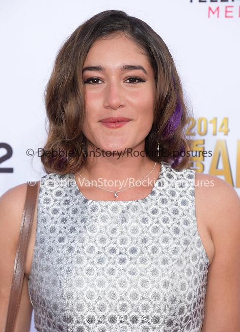 Qorianka Kilcher attends The 2014 NCLR Alma Awards held at The Pasadena Civic Center in Pasadena, California on October 10,2014                                                                               © 2014 Hollywood Press Agency