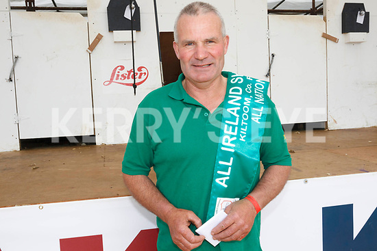 Patrick Moran from Waterville who came 4th in the International Blade competition and who was part of the Irish team for the Six Nations sheep shearing competition.