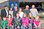 SUPPORTERS: Supporters of Fossa 2mile Coamhallas Ceili? band who were enjoying their music at the Causeway Fleadh Cheoil, on Sunday morning Front l-r: Bobby Breen, Sheila Kelleher, Damien Breen, Josephine Cronin, Katerinna Cronin and Breda Kelliher. Back l-r: paudie Griffin, Eileen Lucey, Noel Lucey, Sarah Griffin,Tim Kissane and Thomas Cronin...