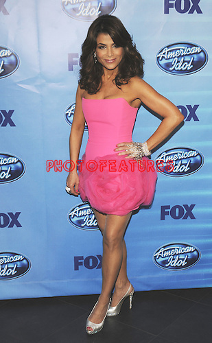 Paula Abdul at the 2010 American Idol Finale at Nokia Theatre in Los Angeles, May 26th 2010...Photo by Chris Walter/Photofeatures