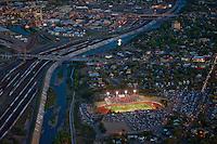 Annual Bell Game.  Football rivalry between Central and Centennial High Schools, Pueblo, Colorado.  2009