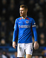 Tom Naylor of Portsmouth during Portsmouth vs Exeter City, Leasing.com Trophy Football at Fratton Park on 18th February 2020