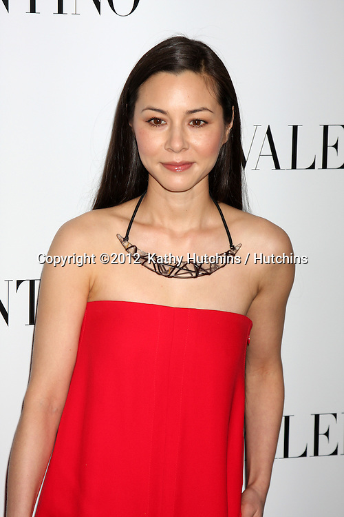 LOS ANGELES - MAR 27:  China Chow Valentino Beverly Hills Opening at the Valentino Store on March 27, 2012 in Beverly Hills, CA