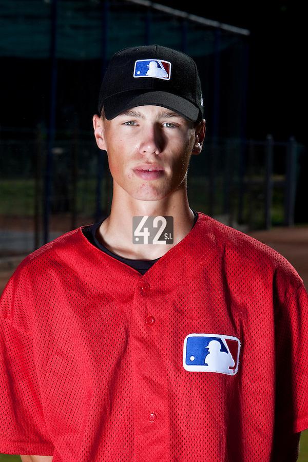 Baseball - MLB European Academy - Tirrenia (Italy) - 20/08/2009 - Kevin Weijgertse (Netherlands)