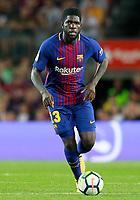 FC Barcelona's Samuel Umtiti during Joan Gamper Trophy. August 7,2017. (ALTERPHOTOS/Acero) /NortePhoto.com