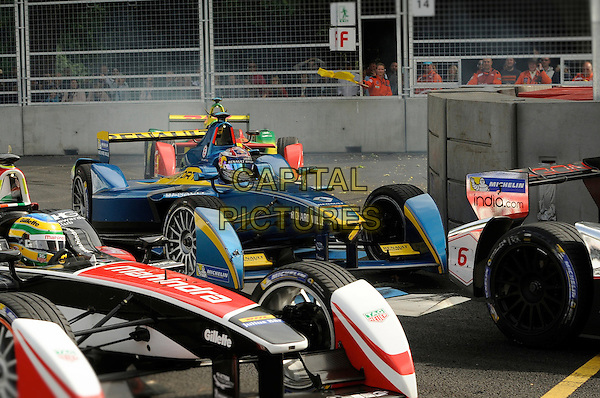 LONDON , ENGLAND - 28 JUNE ; The Formula 1 e Prix at Battersea park, London , England 28th June 2015<br /> CAP/DYL<br /> &copy;Dylan/Capital Pictures