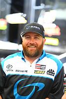 Apr 21, 2017; Baytown, TX, USA; NHRA top fuel driver Shawn Langdon during qualifying for the Springnationals at Royal Purple Raceway. Mandatory Credit: Mark J. Rebilas-USA TODAY Sports
