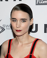 NEW YORK, NY - OCTOBER 04:  Rooney Mara attend the 'UNA' New York VIP screening at Landmark Sunshine Cinema on October 4, 2017 in New York City. <br /> CAP/MPI/JP<br /> &copy;JP/MPI/Capital Pictures