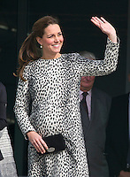 Kate Middleton, Duchess of Cambridge visits Turner Contemporary - UK