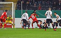 Suat Serdar (1. FSV Mainz 05) mit der Chance - 07.02.2018: Eintracht Frankfurt vs. 1. FSV Mainz 05, DFB-Pokal Viertelfinale, Commerzbank Arena