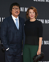 """LOS ANGELES - OCT 6:  Benedict Wong, Linda Emond  at the """"Gemini"""" Premiere at the TCL Chinese Theater IMAX on October 6, 2019 in Los Angeles, CA"""
