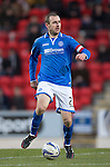 St Johnstone v Kilmarnock.....09.11.13     SPFL<br /> Dave Mackay<br /> Picture by Graeme Hart.<br /> Copyright Perthshire Picture Agency<br /> Tel: 01738 623350  Mobile: 07990 594431