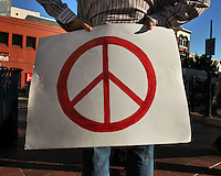 Peace activists, San Diego.