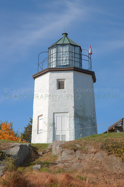 The Stony Point Lighthouse, the oldest lighthouse on the Hudson River