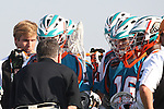 Philadelphia Barrage vs Los Angeles Riptide.Home Depot Center, Carson California.Riptide during time out.506P9010.JPG.CREDIT: Dirk Dewachter