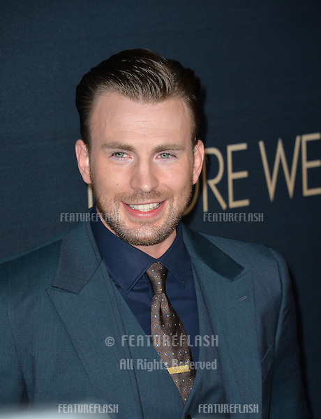 Actor/director Chris Evans at the Los Angeles premiere of his movie &quot;Before We Go&quot; at the Arclight Theatre, Hollywood.<br /> September 2, 2015  Los Angeles, CA<br /> Picture: Paul Smith / Featureflash