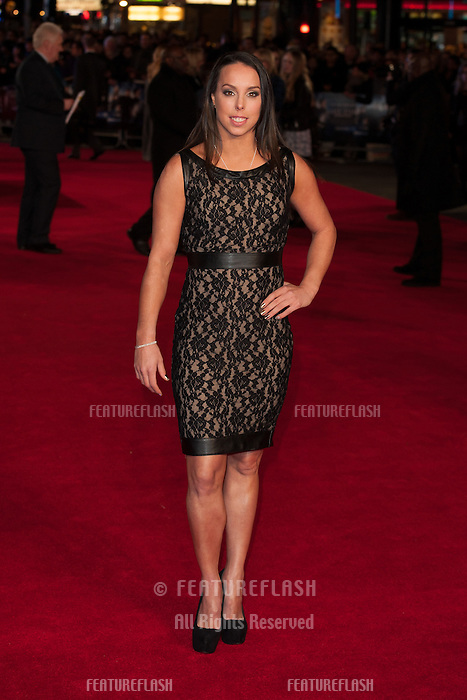 Beth Tweddle arriving for the UK Premiere of Jack Ryan, at Vue Leicester Square, London. 20/01/2014 Picture by: Dave Norton/ Featureflash