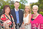 Margaret Brick, Michael Mulcahey, Paula Lenihan and Jill Hannon Pictured at the Enable Ireland Ladies Lunch and Fashion Show at the Earl of Desmond hotel Tralee on Friday.