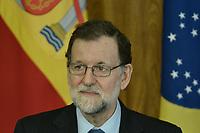 BRASÍLIA, DF, 24.04.2017 – TEMER-DF – O presidente de Governo da Espanha, Mariano Rajoy durante visita no Palácio do Planalto em Brasíia, nesta segunda-feira, 24. (Foto: Ricardo Botelho/Brazil Photo Press)
