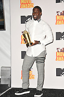 Kevin Hart at the 2015 MTV Movie Awards at the Nokia Theatre LA Live.<br /> April 12, 2015  Los Angeles, CA<br /> Picture: Paul Smith / Featureflash