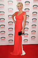 Sarah Harding<br /> arives for the Empire Magazine Film Awards 2014 at the Grosvenor House Hotel, London. 30/03/2014 Picture by: Steve Vas / Featureflash