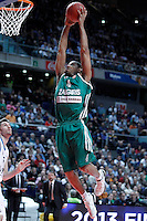 Zalgiris Kaunas' Tremmell Darden during Euroleague 2012/2013 match.January 11,2013. (ALTERPHOTOS/Acero) /NortePhoto