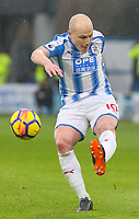 Huddersfield Town's Aaron Mooy<br /> <br /> Photographer Alex Dodd/CameraSport<br /> <br /> The Premier League - Huddersfield Town v Swansea City - Saturday 10th March 2018 - John Smith's Stadium - Huddersfield<br /> <br /> World Copyright &copy; 2018 CameraSport. All rights reserved. 43 Linden Ave. Countesthorpe. Leicester. England. LE8 5PG - Tel: +44 (0) 116 277 4147 - admin@camerasport.com - www.camerasport.com