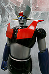 A human-sized statue of Mazinger Z on display during the AnimeJapan 2017 at Tokyo Big Sight on March 25, 2017, Tokyo, Japan. AnimeJapan 2017 is a trade show promoting ''Everything Anime'' to local and foreign fans and businesses. The show is held over four-day days with March 23-24 reserved for business visitors and March 25-26 for the public. It is expected to attract some 120,000 visitors, including cosplayers. (Photo by Rodrigo Reyes Marin/AFLO)