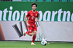 Alvaro Odriozola (Bayern)<br />Wolfsburg, 27.06.2020: nph00001: , Fussball Bundesliga, VfL Wolfsburg - FC Bayern Muenchen<br />Foto: Tim Groothuis/Witters/Pool//via nordphoto<br /> DFL REGULATIONS PROHIBIT ANY USE OF PHOTOGRAPHS AS IMAGE SEQUENCES AND OR QUASI VIDEO<br />EDITORIAL USE ONLY<br />NATIONAL AND INTERNATIONAL NEWS AGENCIES OUT