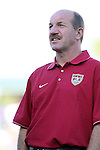 U.S. assistant coach Glenn Myernick on Tuesday, April 11th, 2006 at SAS Stadium in Cary, North Carolina. The United States Men's National Team tied Jamaica 1-1 in a men's international friendly.