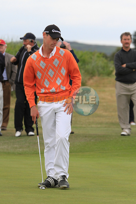 Richard O'Donovan on the second round of the final day at the East of Ireland Amateur Open Championship 2011 in Co.Louth Golf Club...(Photo credit should read Jenny Matthews www.newsfile.ie)....This Picture has been sent you under the conditions enclosed by:.Newsfile Ltd..The Studio,.Millmount Abbey,.Drogheda,.Co Meath..Ireland..Tel: +353(0)41-9871240.Fax: +353(0)41-9871260.GSM: +353(0)86-2500958.email: pictures@newsfile.ie.www.newsfile.ie.