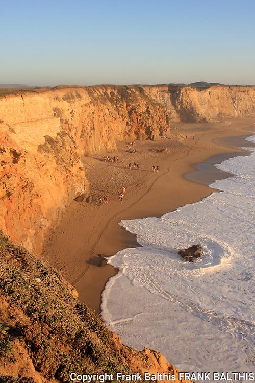 Panther Beach near Davenport, CA