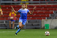 Bridgeview, IL - Wednesday August 16, 2017: Casey Short during a regular season National Women's Soccer League (NWSL) match between the Chicago Red Stars and the Seattle Reign FC at Toyota Park.
