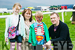 Enjoying  the Kingdom County Fair in Ballybeggan on Sunday were l-r  Tony Dennehy, Rosaleen Dennehy, Aibheen Dennehy and Cathal Dennehy from Lixnaw.