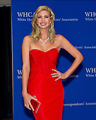 Ivanka Trump, executive vice president of development and acquisitions at Trump Organization LLC, arrives for the 2015 White House Correspondents Association Annual Dinner at the Washington Hilton Hotel on Saturday, April 25, 2015.<br /> Credit: Ron Sachs / CNP