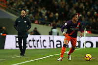 Manchester City manager Pep Guardiola during Tottenham Hotspur vs Manchester City, Premier League Football at Wembley Stadium on 29th October 2018