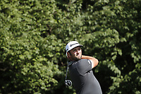 Jon Rahm (SPN) tees off on the 9th hole during the first round of the 100th PGA Championship at Bellerive Country Club, St. Louis, Missouri, USA. 8/9/2018.<br /> Picture: Golffile.ie | Brian Spurlock<br /> <br /> All photo usage must carry mandatory copyright credit (© Golffile | Brian Spurlock)