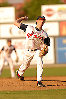 June 21 2008:  Kyle Weiland of the Lowell Spinners at LeLacheur Park in Lowell, MA.  Photo by:  Ken Babbitt/Four Seam Images