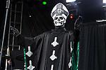 Papa Emeritus II of Ghost B.C. performs during the 2013 Rock On The Range festival at Columbus Crew Stadium in Columbus, Ohio.