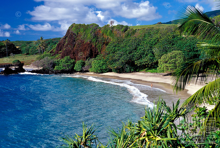 Hamoa Beach, Hana, Maui.
