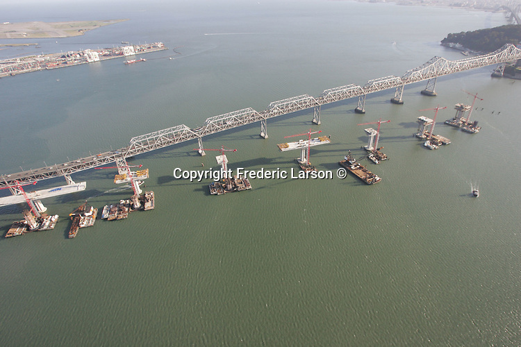 Construction Site of the New Bay Bridge